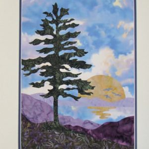 Sunset Pine Blue