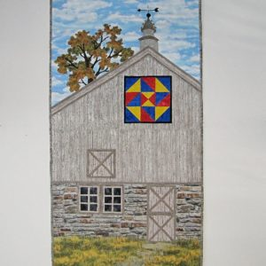 "Barn Quilt ""Star Puzzle"" NEW!"