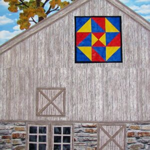"""Barn Quilt """"Star Puzzle"""" NEW!"""